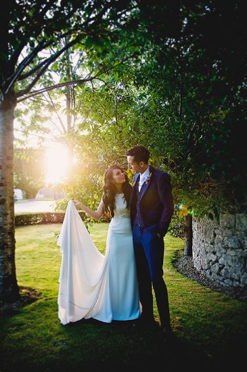 FoKiss Photography, Wedding Photography, Castle Dargan Irish wedding photographer, Galway wedding photographer, golden hour, sunset, sparklers, first dance