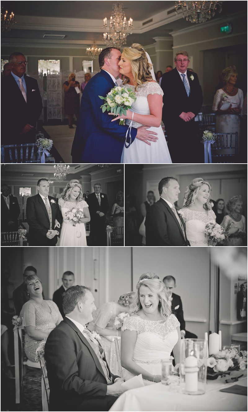 Wedding ceremony at The Lodge at Ashford Castle