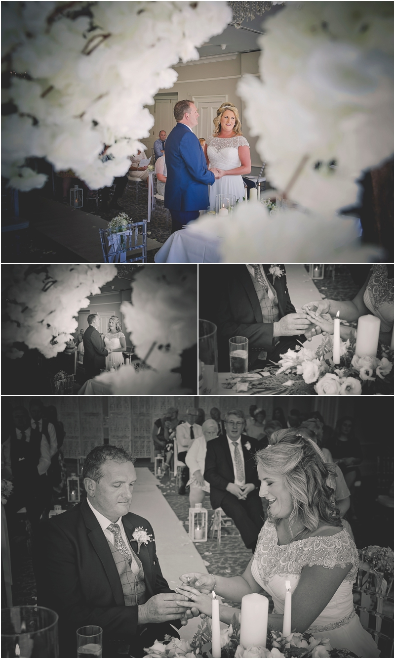 The wedding ceremony at The Lodge at Ashford Castle